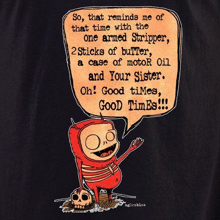 Agorables Good Times Devil Shirt | LOL!!!