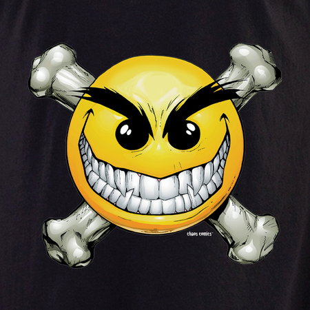 Chaos Smiley Shirt | Biker