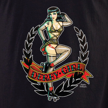 Kirsten Easthope Derby Girl Shirt | Roller Derby