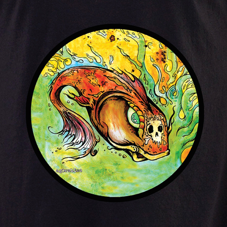 Agorables Koi Skull Shirt | T-Shirts