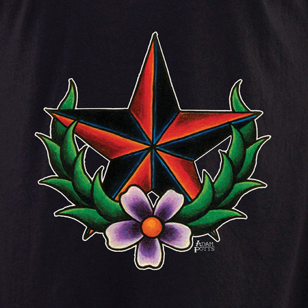 Adam Potts Tattoo Nautical Star Shirt | Retro