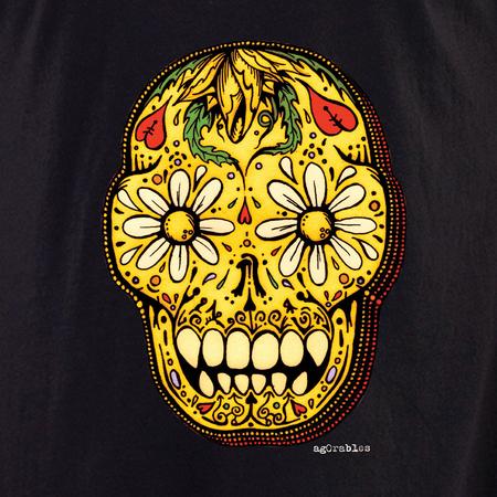 Agorables Sugar Skull Shirt | Latino