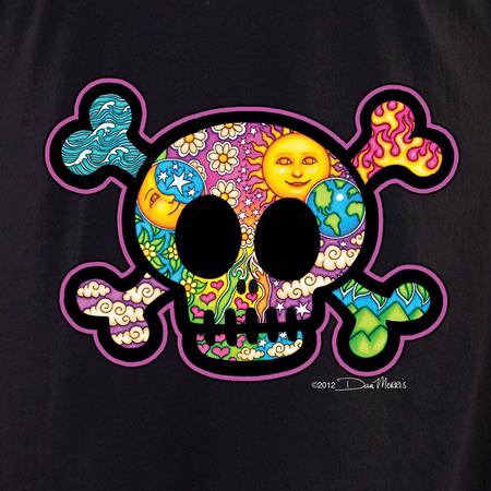 Dan Morris Cute Skull Shirt | Celestial