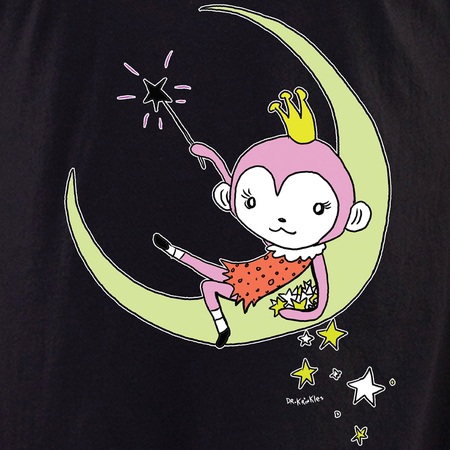 Dr Krinkles Monkey Princess Shirt | Celestial