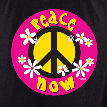 Daisy Peace Now Shirt | Hippie