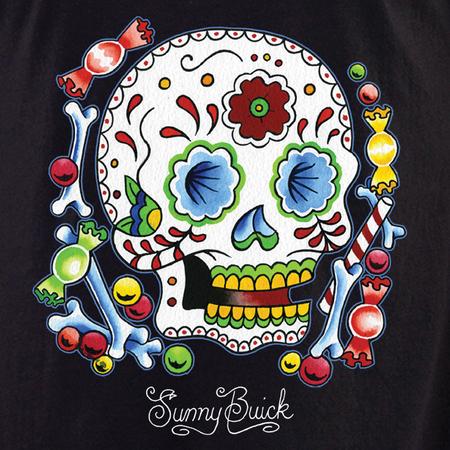 Sunny Buick Candy Sugar Skull Shirt | Latino