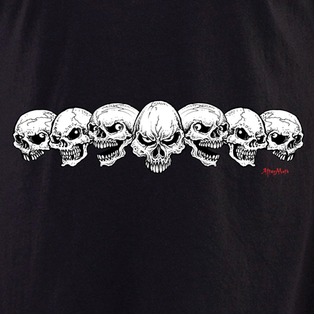 Aftermath 7 Skulls Shirt | T-Shirts and Hoodies