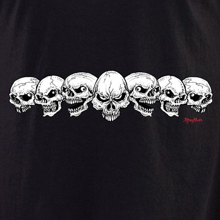 Aftermath 7 Skulls Shirt | T-Shirts