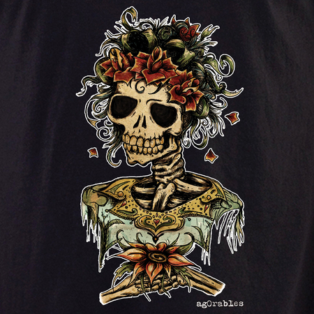 Agorables Bride Skull Shirt | Latino