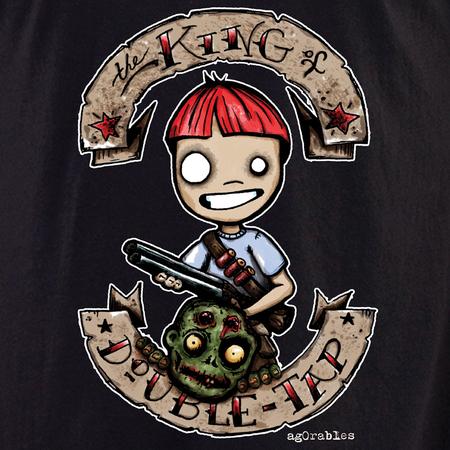 Agorables Zombie Double Tap Shirt   Agorables