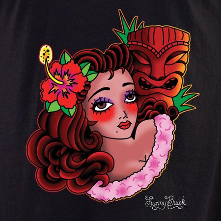 Sunny Buick Hula Tiki Shirt | Tropical