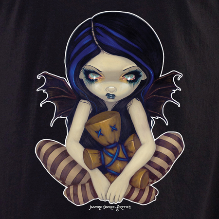 Jasmine's Voodoo in Blue Fairy Shirt | Jasmine Becket-Griffith
