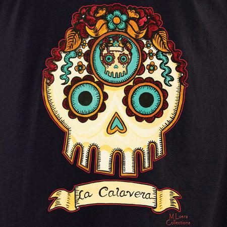 MLuera La Calavera Sugar Skull Shirt | Latino