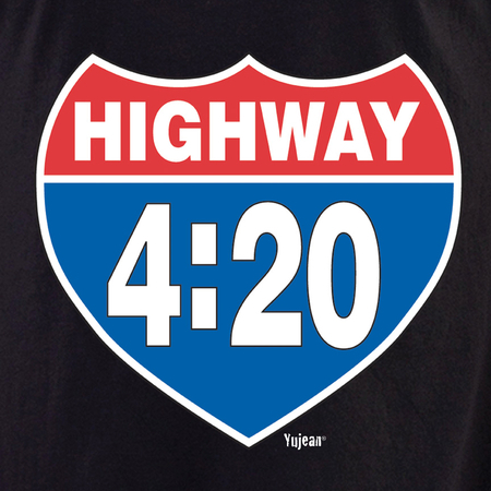 Hwy 420 shirt | Cannabis