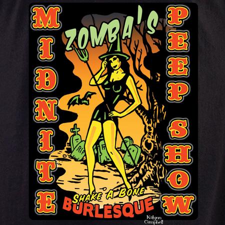 Kalynn's Midnight Peepshow shirt | T-Shirts