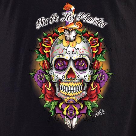 Iovino Dagger Skull shirt | T-Shirts and Hoodies