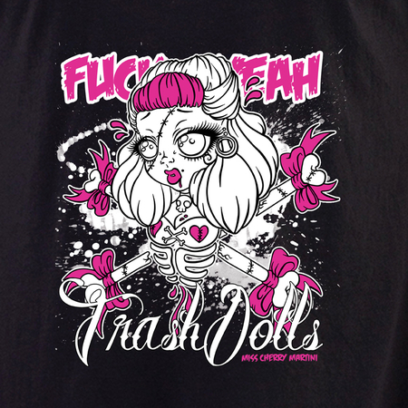 Miss Cherry Martini Trash Dolls shirt | Roller Derby