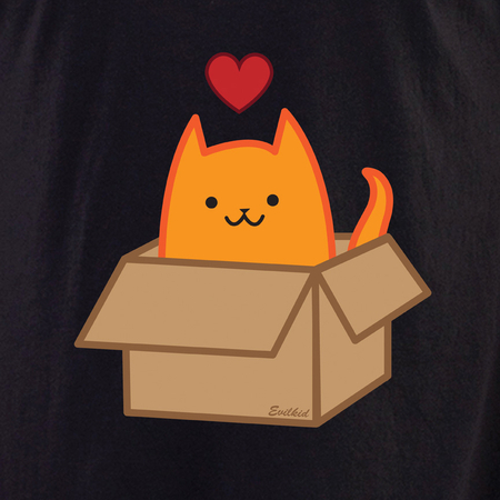 Evilkid Boxcat shirt | Evilkid
