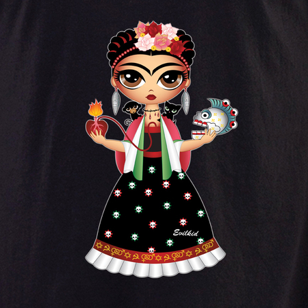 Evilkid Frida Shirt | Latino