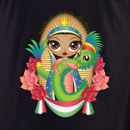 Evilkid Quetzal Guadalupe Shirt | Latino