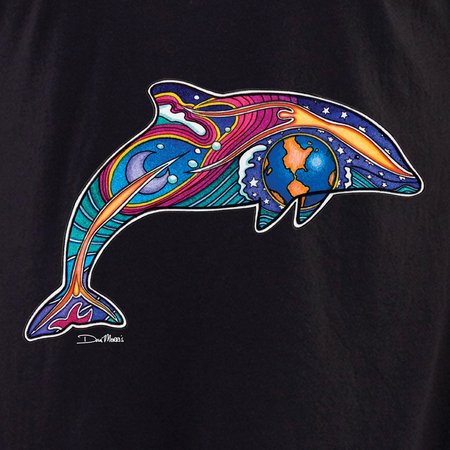 Dan Morris dolphin 1 shirt | Peace and Eco