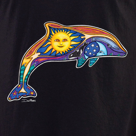 Dan Morris dolphin 2 shirt | Peace and Eco