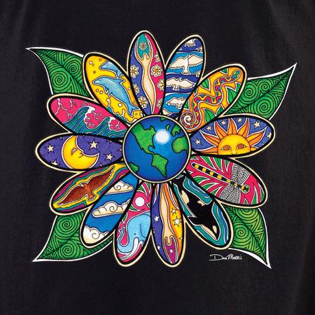 Dan Morris earth blossom shirt | Celestial