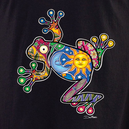 Dan Morris frog shirt | Peace and Eco