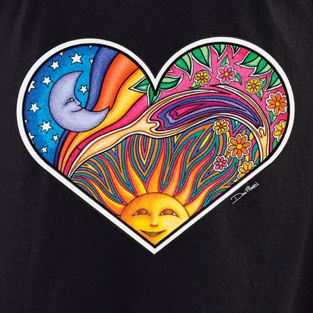 Dan Morris heart shirt | Hippie