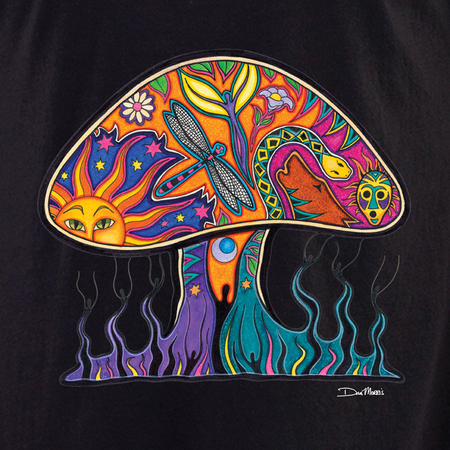 Dan Morris mushroom shirt | T-Shirts and Hoodies