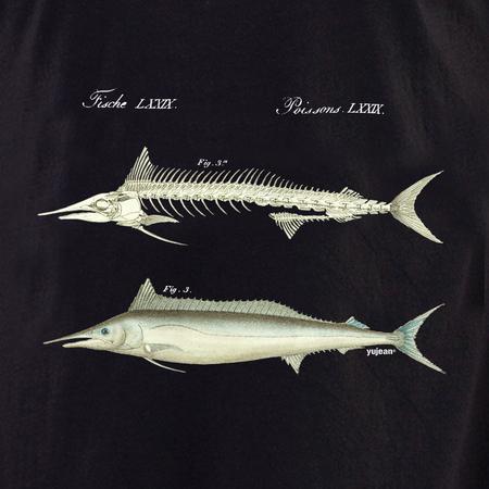 Curiosities Fish Skeleton Shirt | Cabinet of Curiosities
