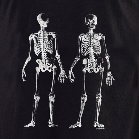 Curiosities Skeleton front/back Shirt | Cabinet of Curiosities