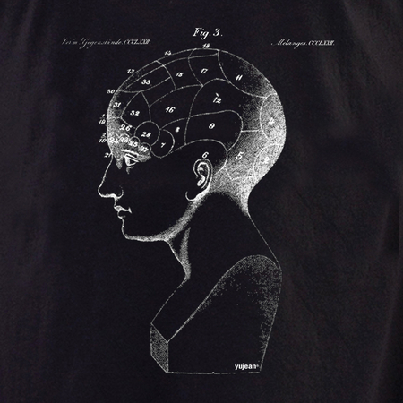 Curiosities Phrenology Shirt | T-Shirts and Hoodies
