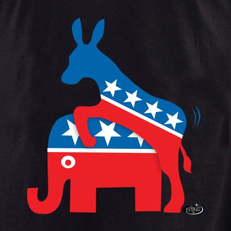Evilkid Donkey & Elephant shirt | T-Shirts