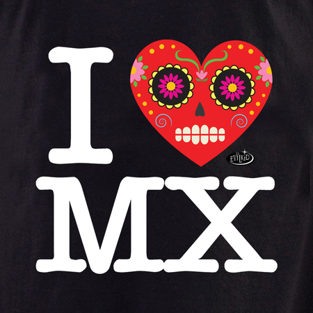 Evilkid I Heart Mexico shirt | Latino