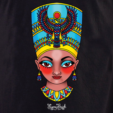Sunny Buick Nefertiti shirt | The Very Latest Shirts, Totes and Button Boxes!!