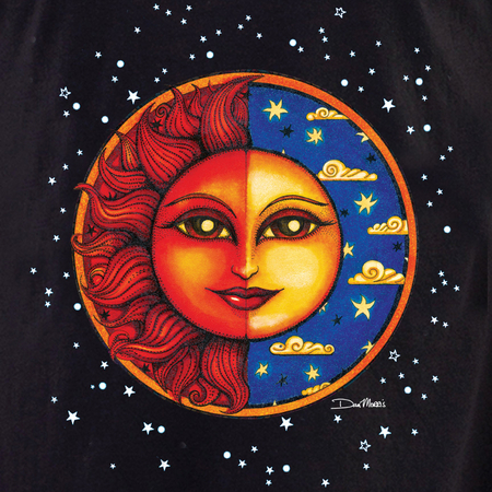 Dan Morris Celestial Twilight Shirt | The Very Latest Shirts, Totes and Button Boxes!!