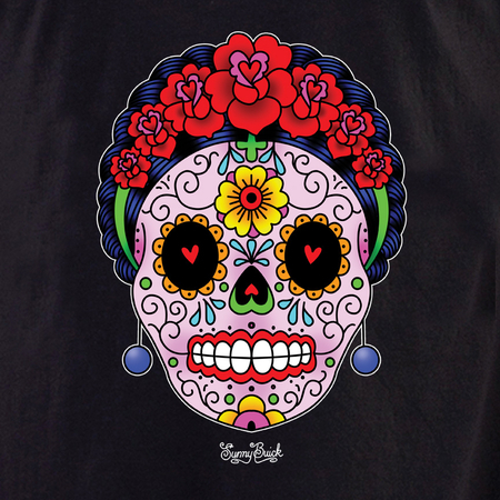 Sunny Buick Calavera Frida Shirt | The Very Latest Shirts, Totes and Button Boxes!!