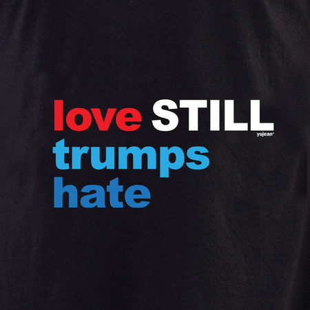 Love Still Trumps Hate shirt | Pink #RESIST