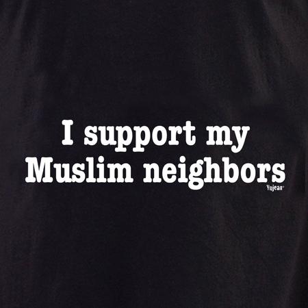 I Support My Muslim Neighbors shirt | Pink #RESIST