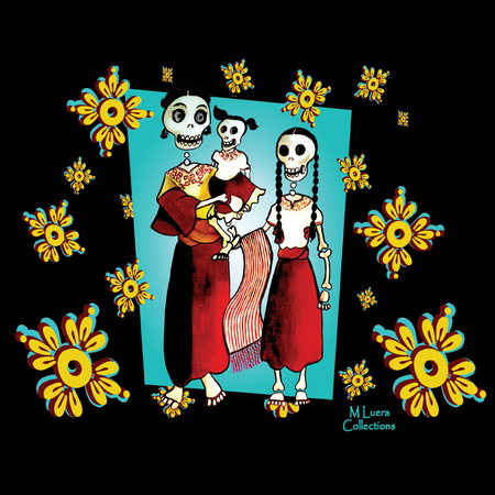 MLuera Dia de los Muertos Tshirt | The Very Latest Shirts, Totes and Button Boxes!!