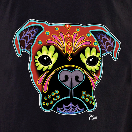 Cali Boxer Fawn Shirt | T-Shirts and Hoodies