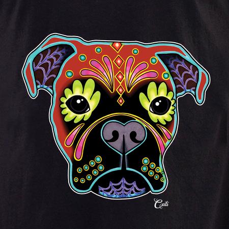 Cali Boxer Fawn Shirt | T-Shirts