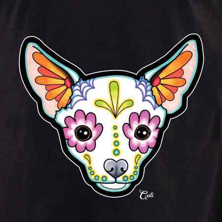 Cali Chihuahua White Shirt | T-Shirts