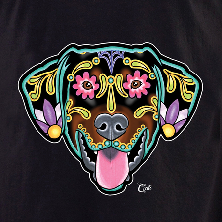 Cali Doberman Floppy Shirt | The Very Latest Shirts, Totes and Button Boxes!!