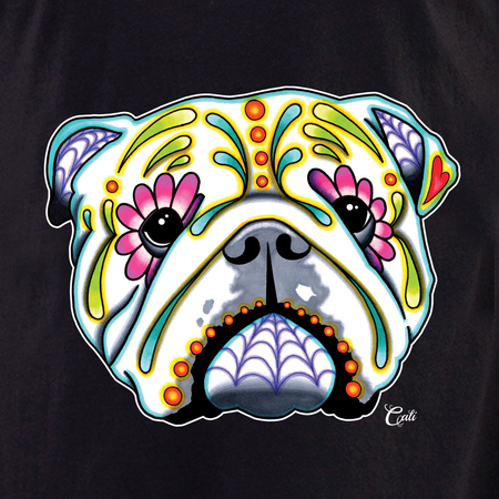 Cali English Bulldog Shirt | T-Shirts