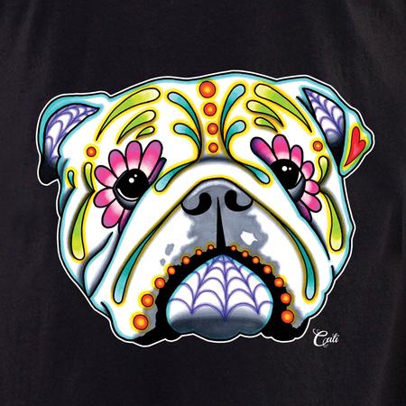 Cali English Bulldog Shirt | T-Shirts