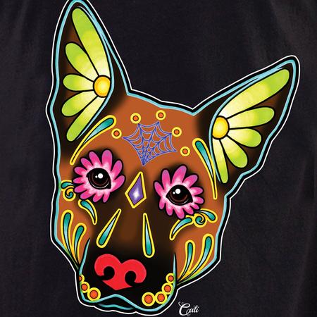 Cali German Shepherd Brown Shirt | T-Shirts