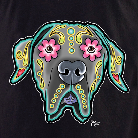 Cali Great Dane Floppy Shirt | T-Shirts and Hoodies