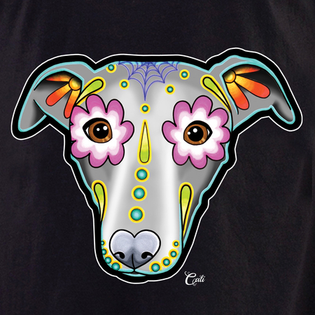 Cali Greyhound_Whippet Shirt | T-Shirts